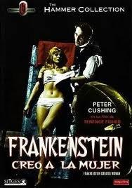 Frankenstein creo a la mujer