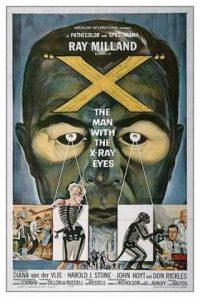 El hombre con rayos X en los ojos (The man with X-ray eyes)