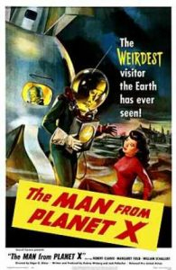 El hombre del planeta X (The Man from planet X)