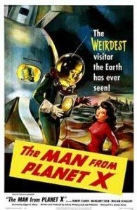 El hombre del planeta X (The Man from planet X)